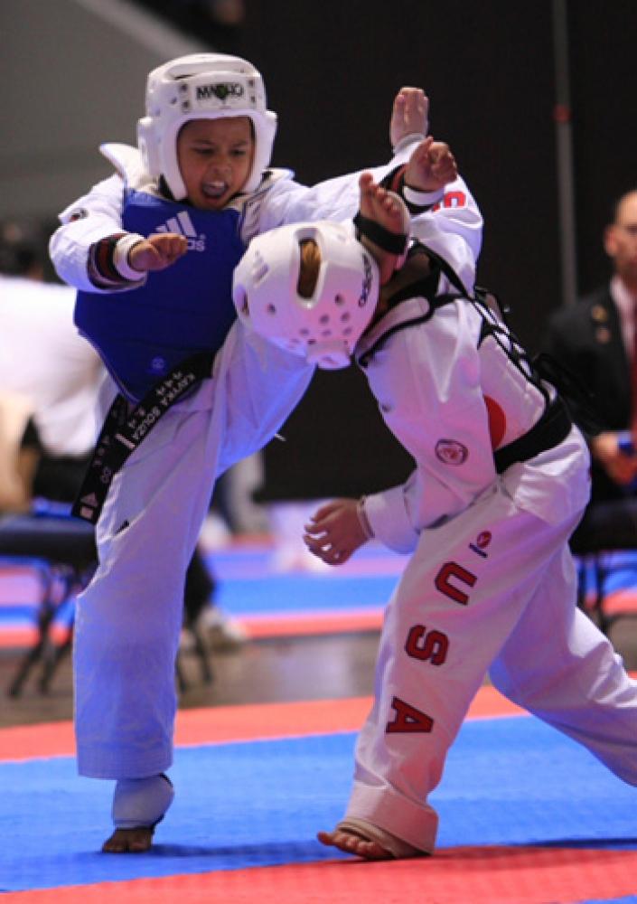Taekwondo-contact Enfants