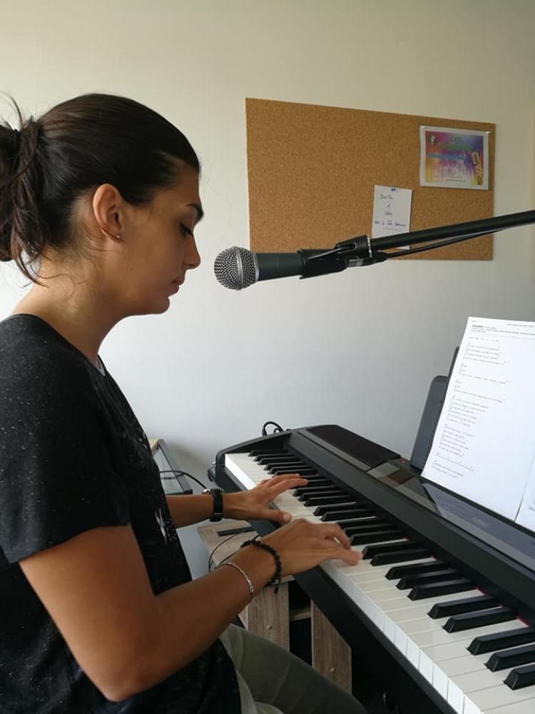 Cours particulier de chant avec piano Bimensuel