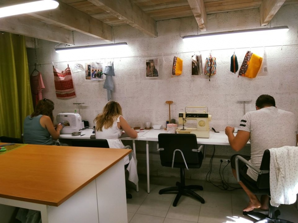 Couture ateliers Trimestre 6 x 3 heures