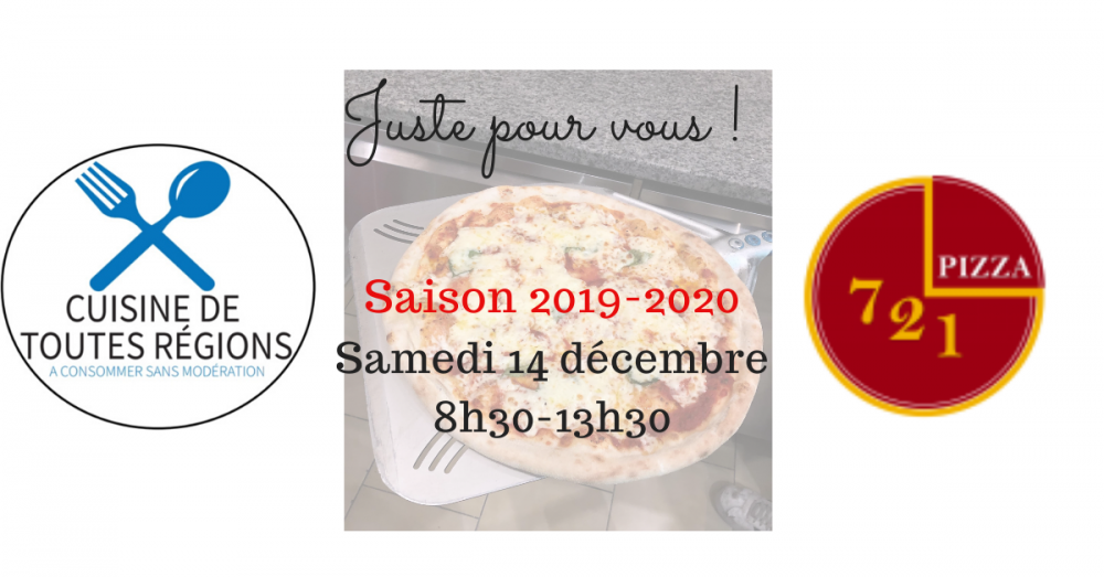 Atelier apprentissage Pizza