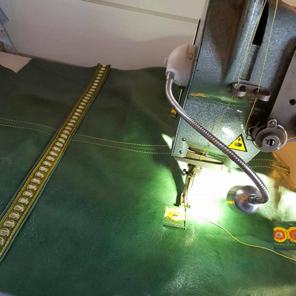 Atelier Cuir: confection d'un sac sceau