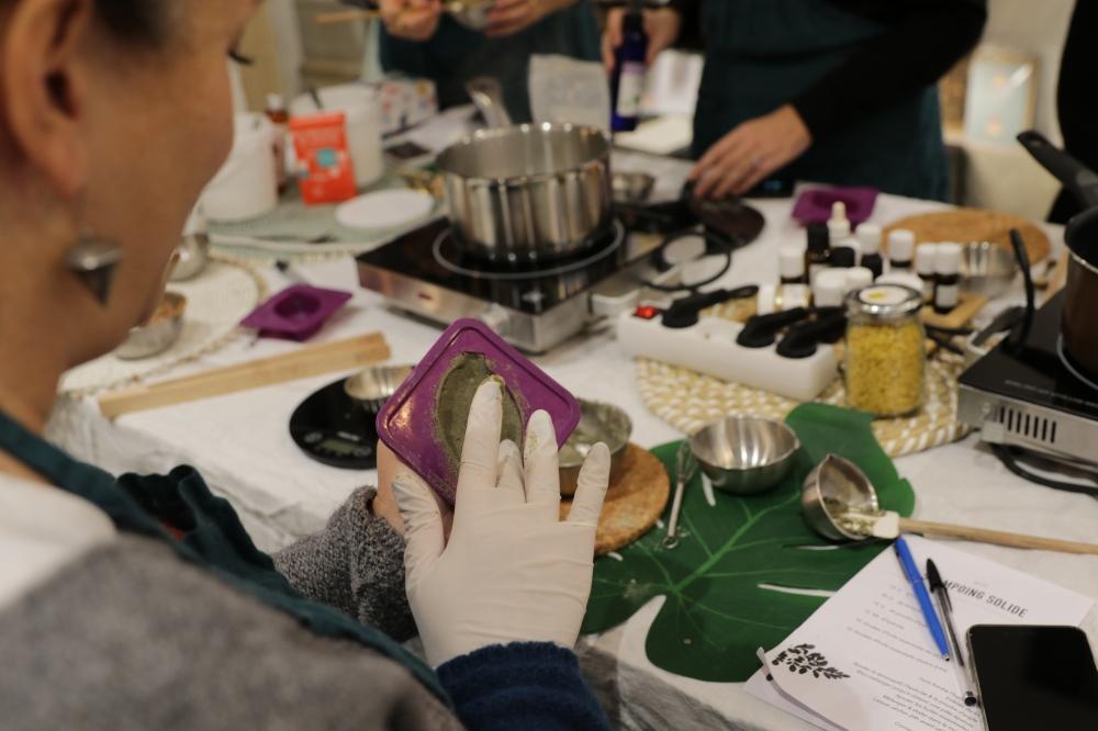 Atelier DIY cosmétique naturelle