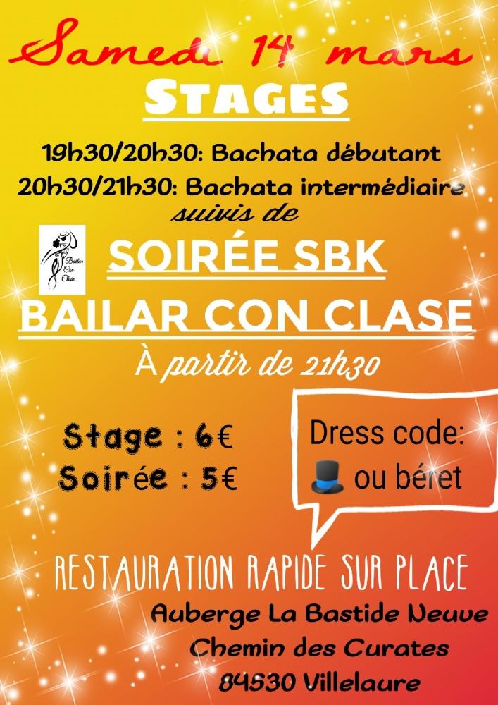 Stage Bachata Débutant/ Intermédiaire