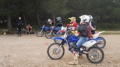 cours de motocross Aix