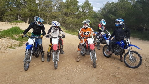 cours motocross