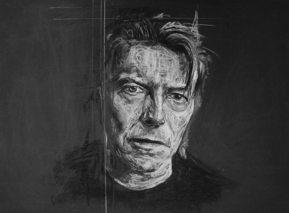 """Impression d'art A3 \"""" David Bowie \"""""""