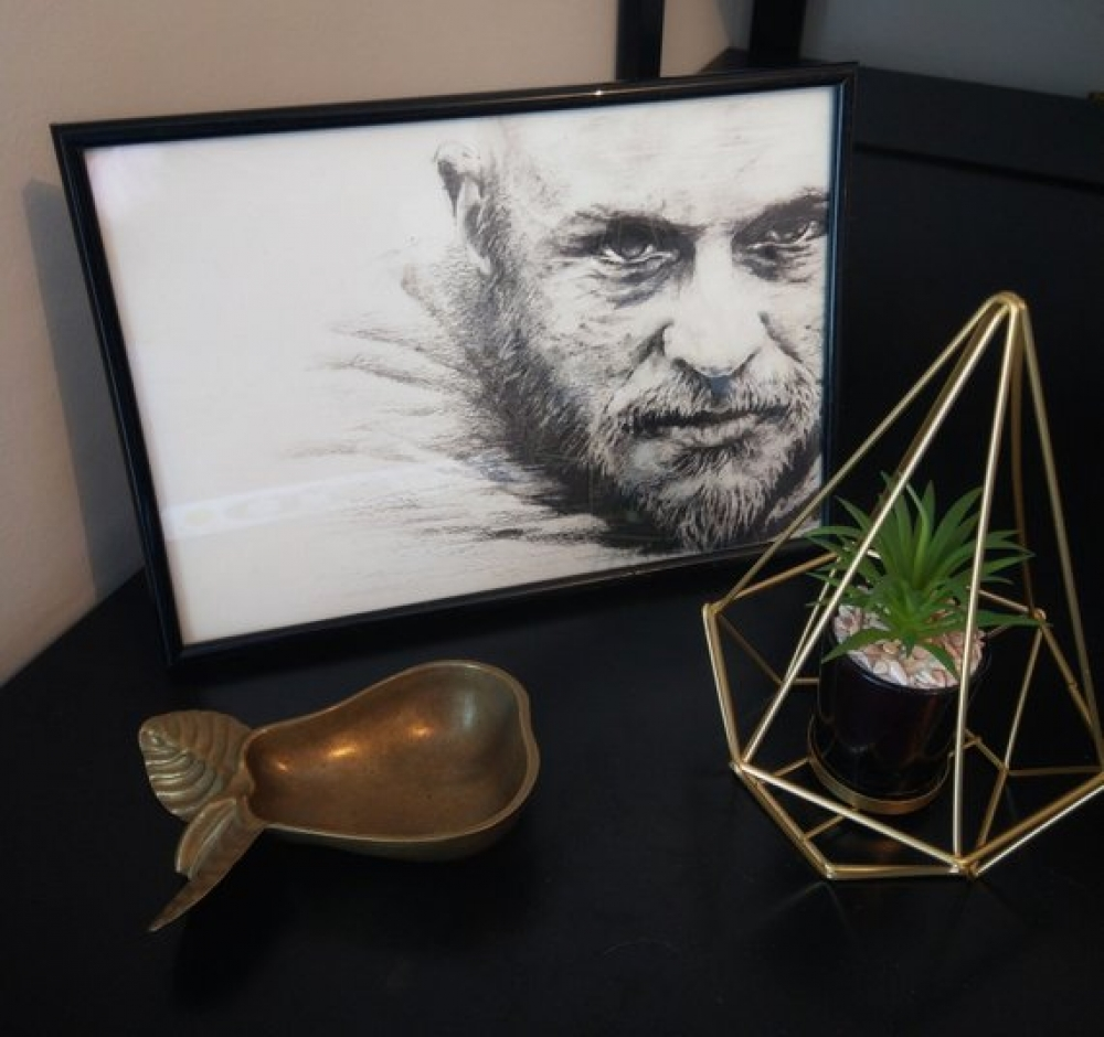 """Impression d'art A4 \"""" Ragnar\"""""""