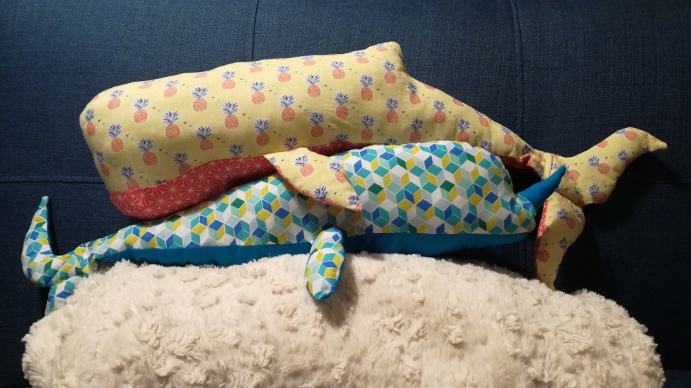 Coussin - Le Cachalot