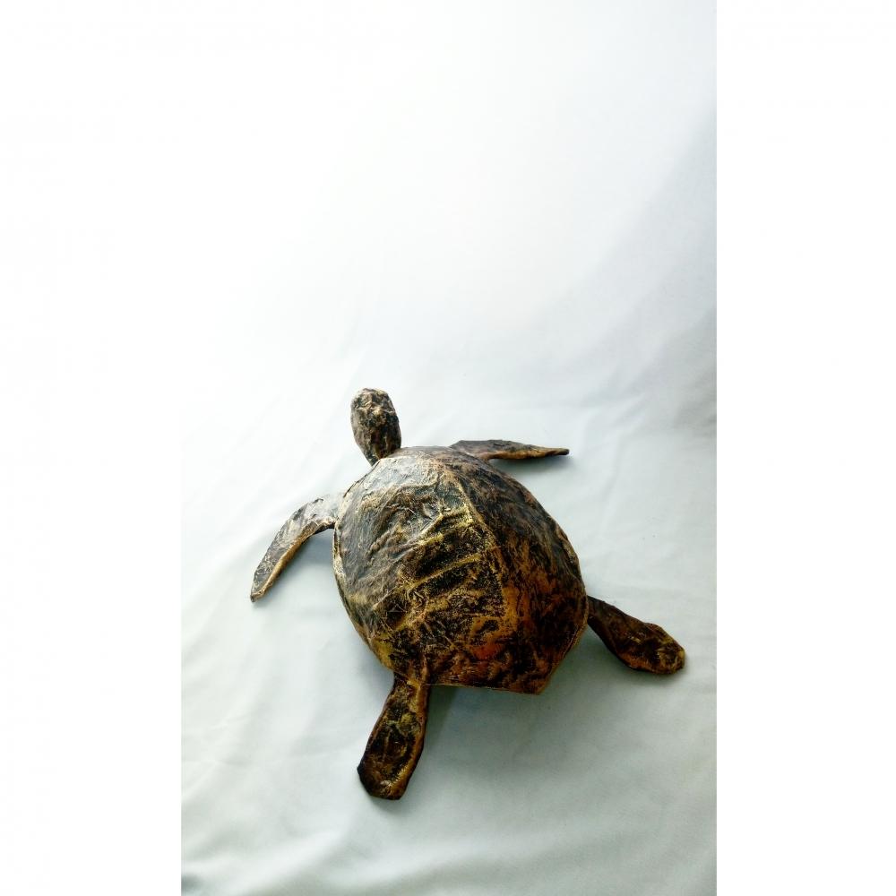 Tortue de mer - imitation bronze