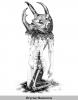 Oryctes Nasicornis - Reproduction 40x50cm