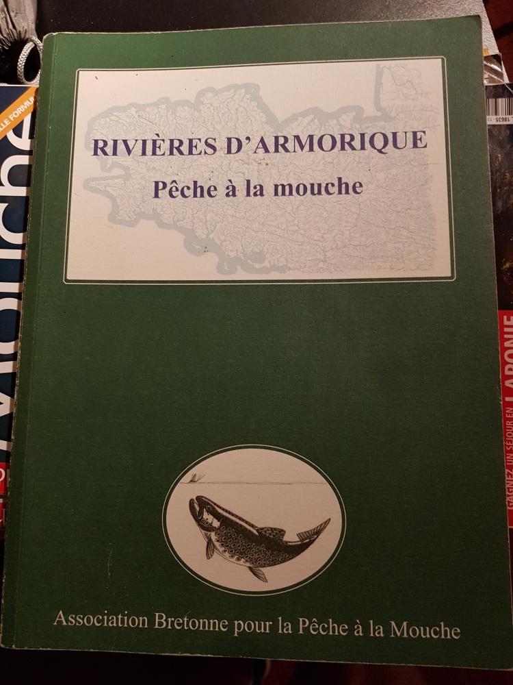 Livre Rivières d'Armorique Pêche à la mouche