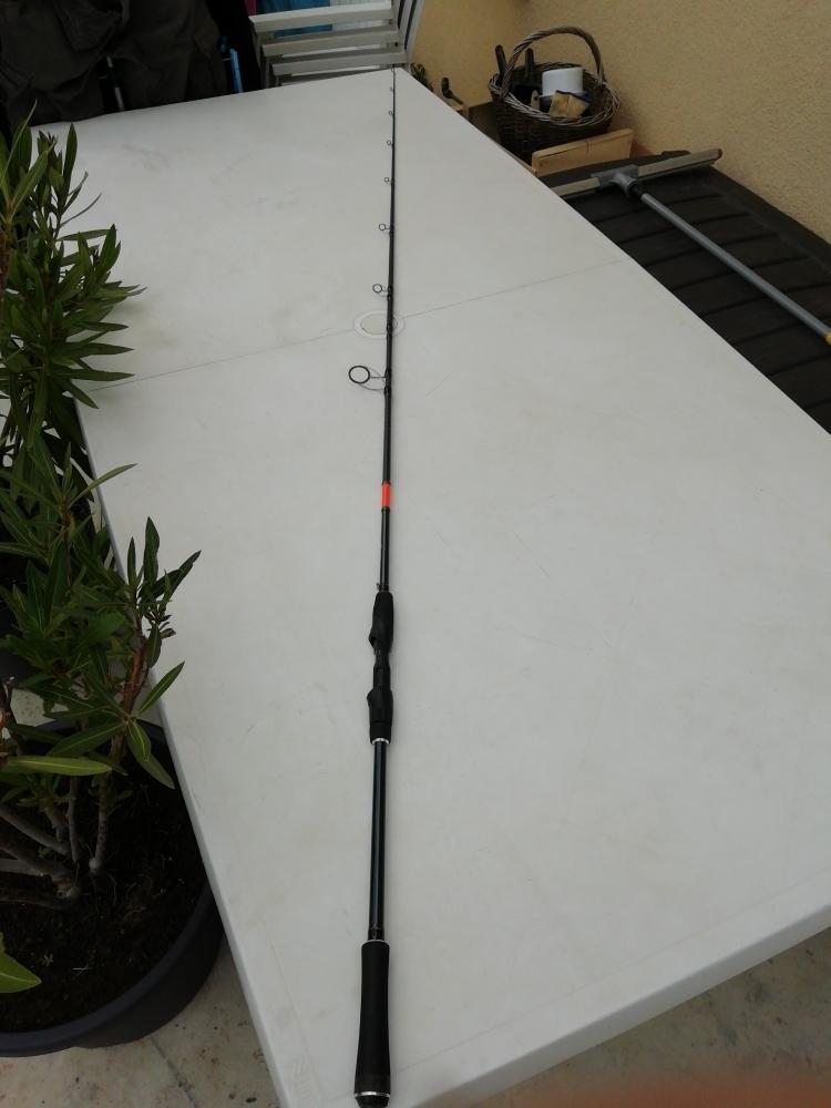 Canne décathlon Wixom5 30.60g 2m10cm