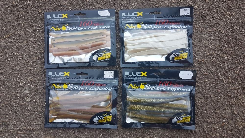 Illex Nitro soft jerk lightning 180 slim