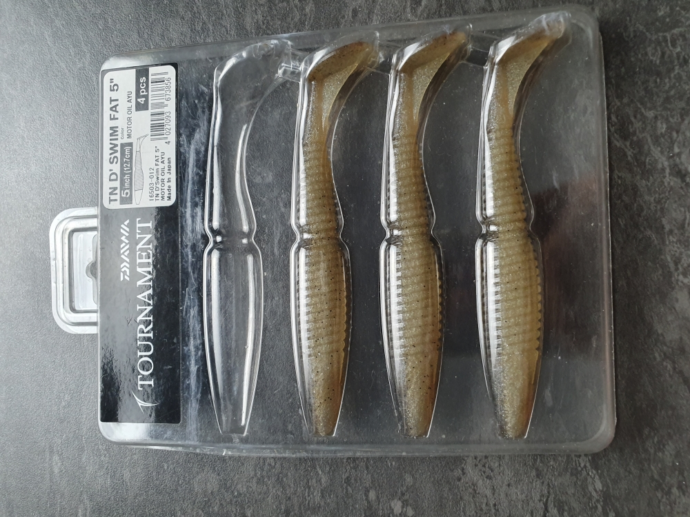 DAIWA TOURNAMENT D SWIM FAT - 13CM