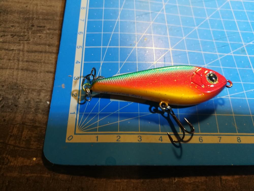 Strike Pro Tiny Buster Jerk, 6.8cm, 10.3g