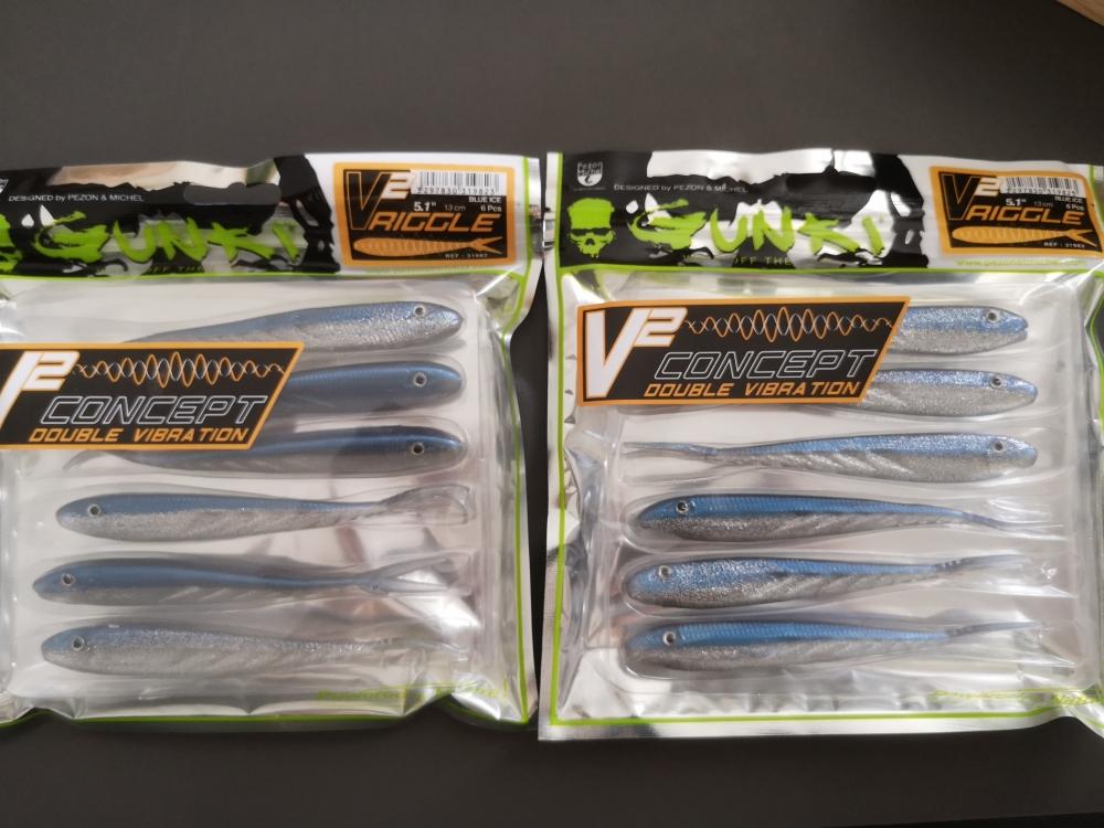 2 paquet de V2 Riggle 13cm GUNKI