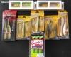 Lot de leurres souples pour la pêche du brochet (neuf) - Berkley, Sawamura,...