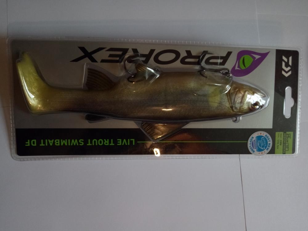 Daiwa live trout swimbait df