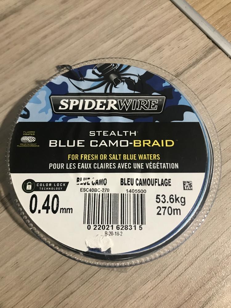 tresse Spider Wire