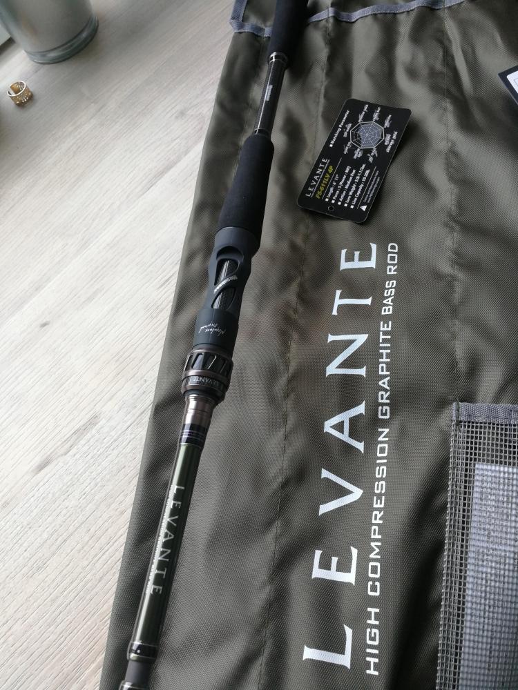 Canne casting Megabass Levante F5-611LV 4p