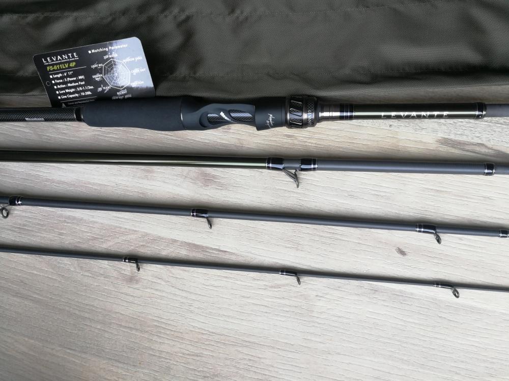Canne Megabass Levante F5-611LV 4p