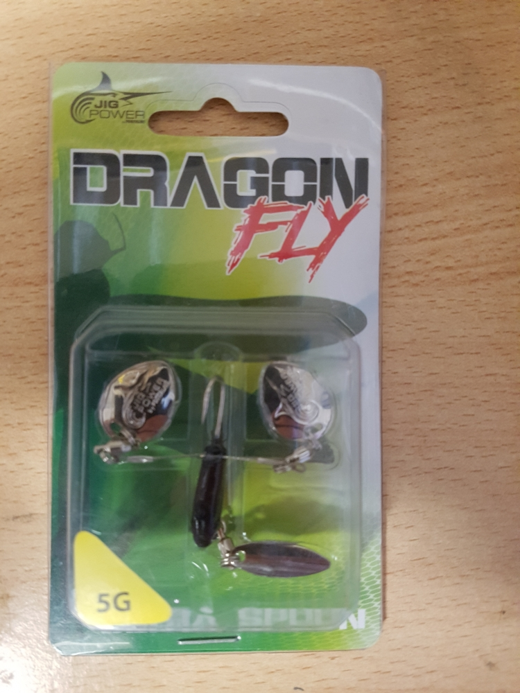 Microspinner dragon fly jig power