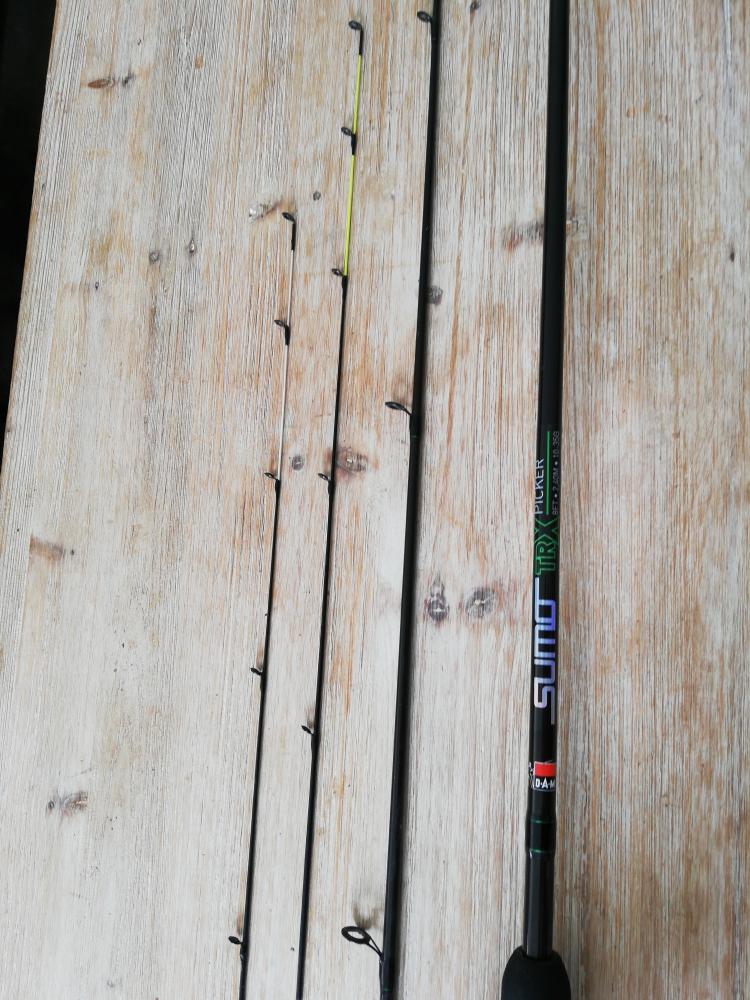 Canne Feeder Dam Sumo trx picker 2,40m