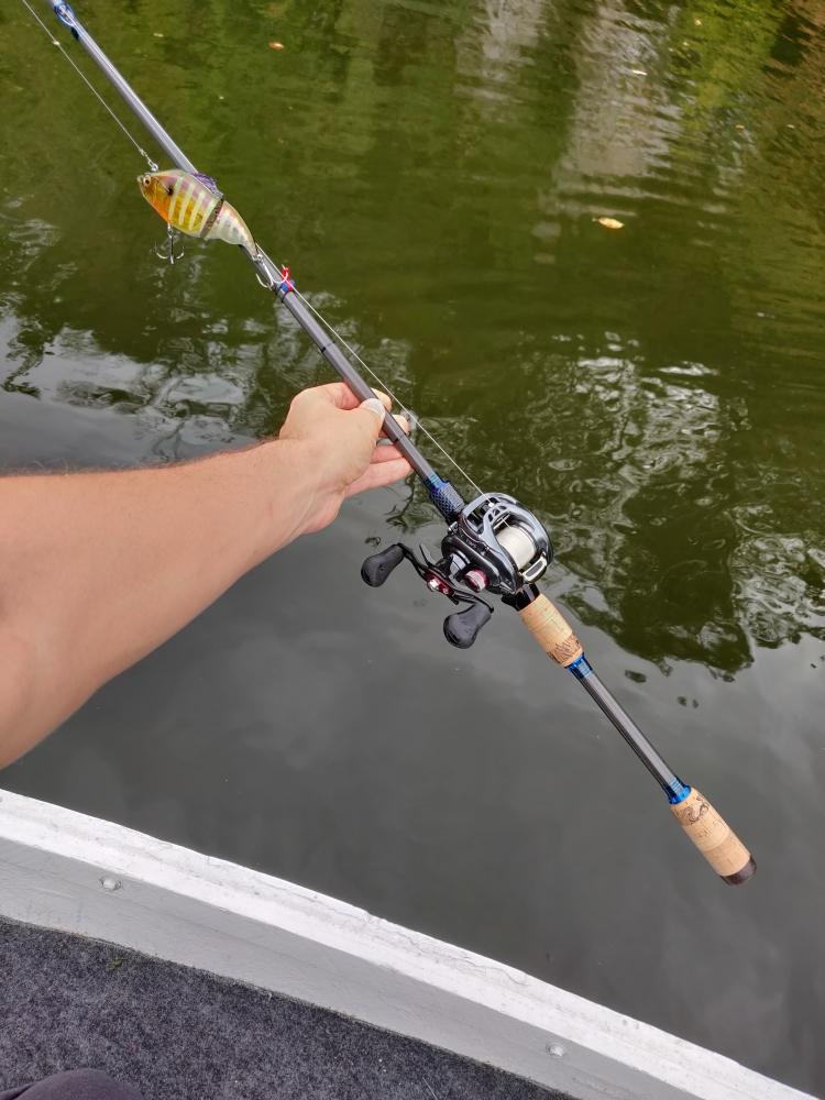 Canne à pêche sur mesure