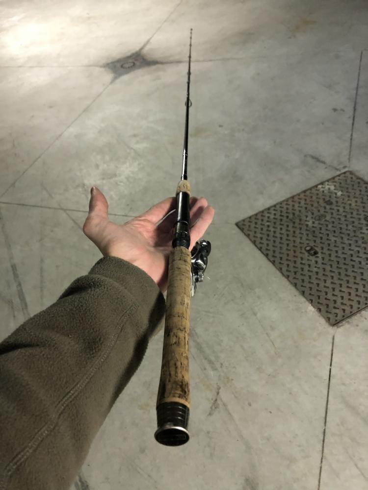 Canne verticale Rozemeijer 15g