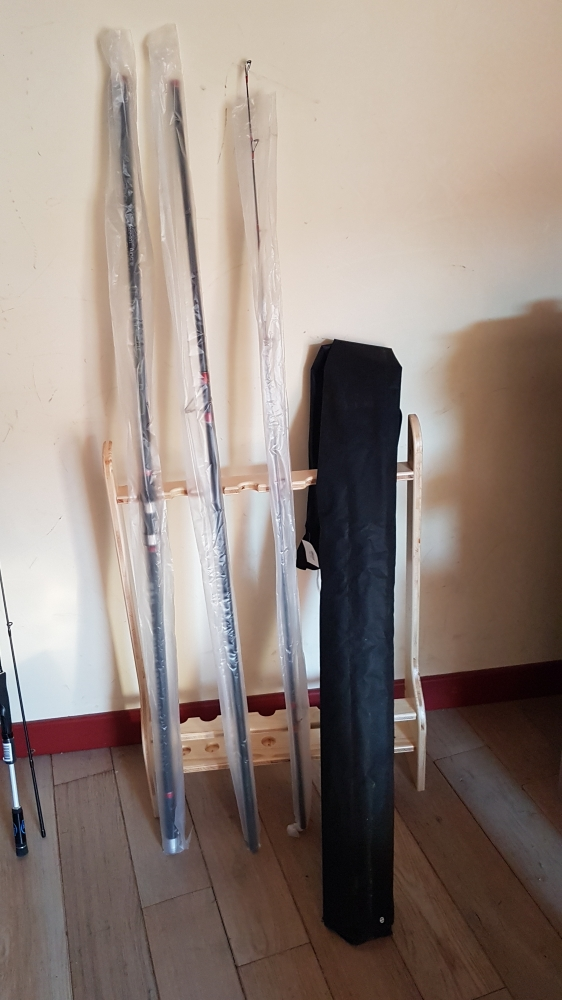 Canne et moulinet surfcasting