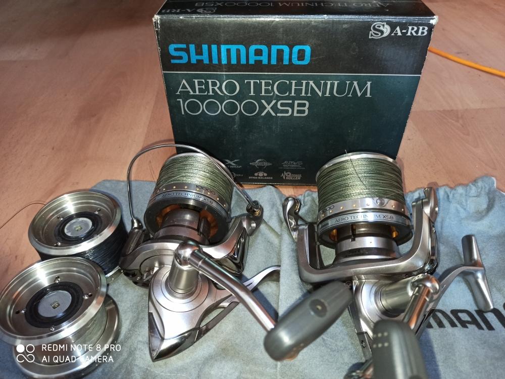 Moulinet carpe Shimano Aero technium