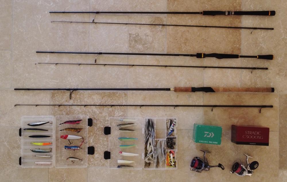 Vente matériel pêche leurre