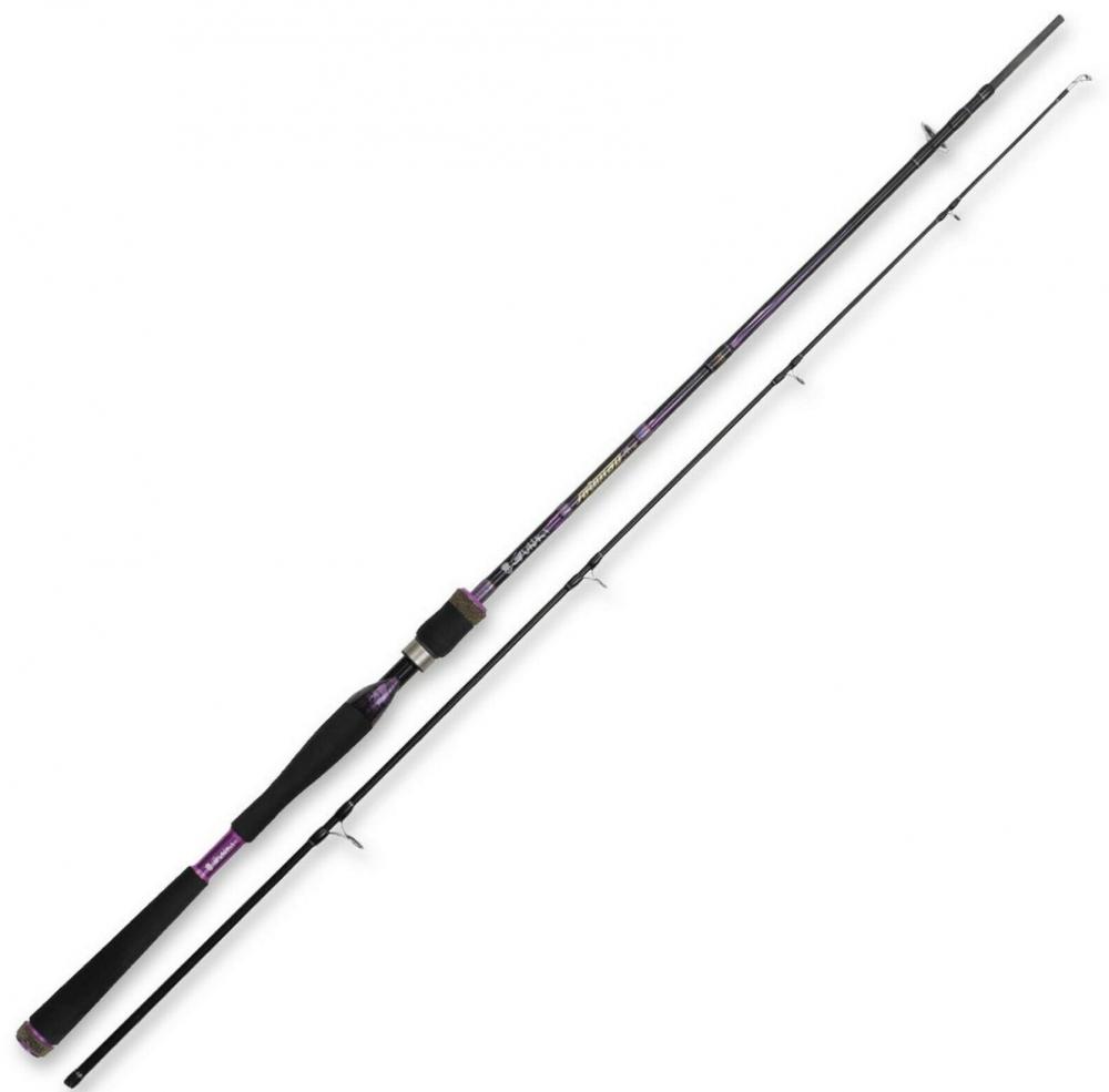 canne à pêche spinning big bait GUNKI yama S-HX+, 198cm (2brins), 30-80g_2 brins