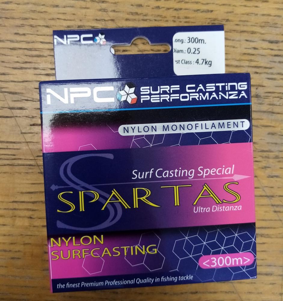 Lot de 4 Bobines 300m de Nylon Spartas 0.25