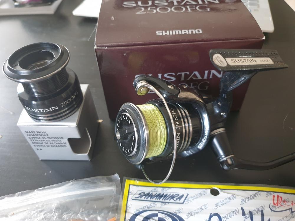 Shimano Sustain 2500FG