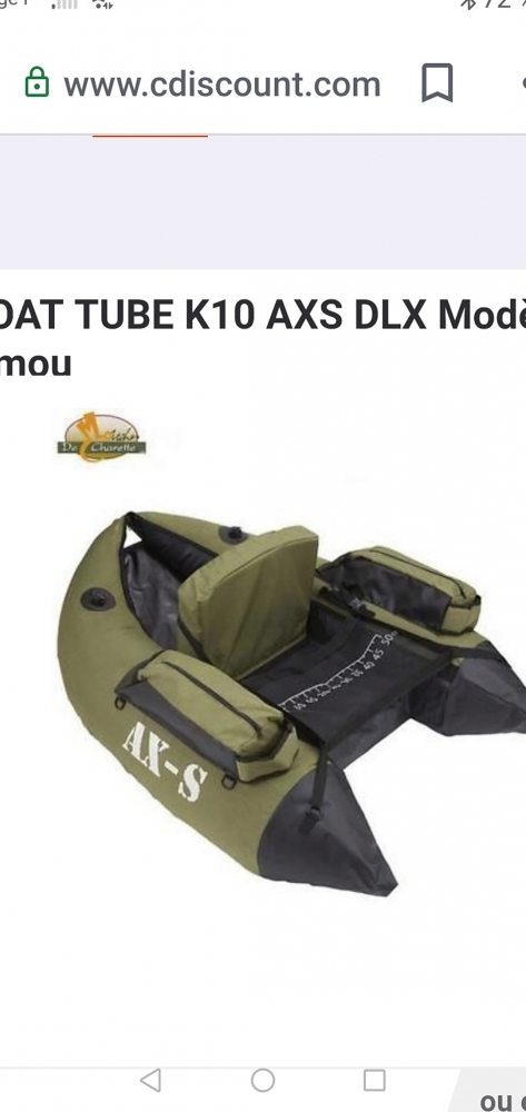 Float tube complet