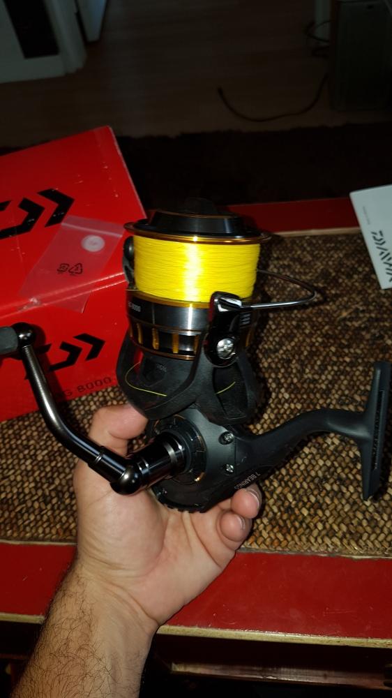 Daiwa black gold 8000