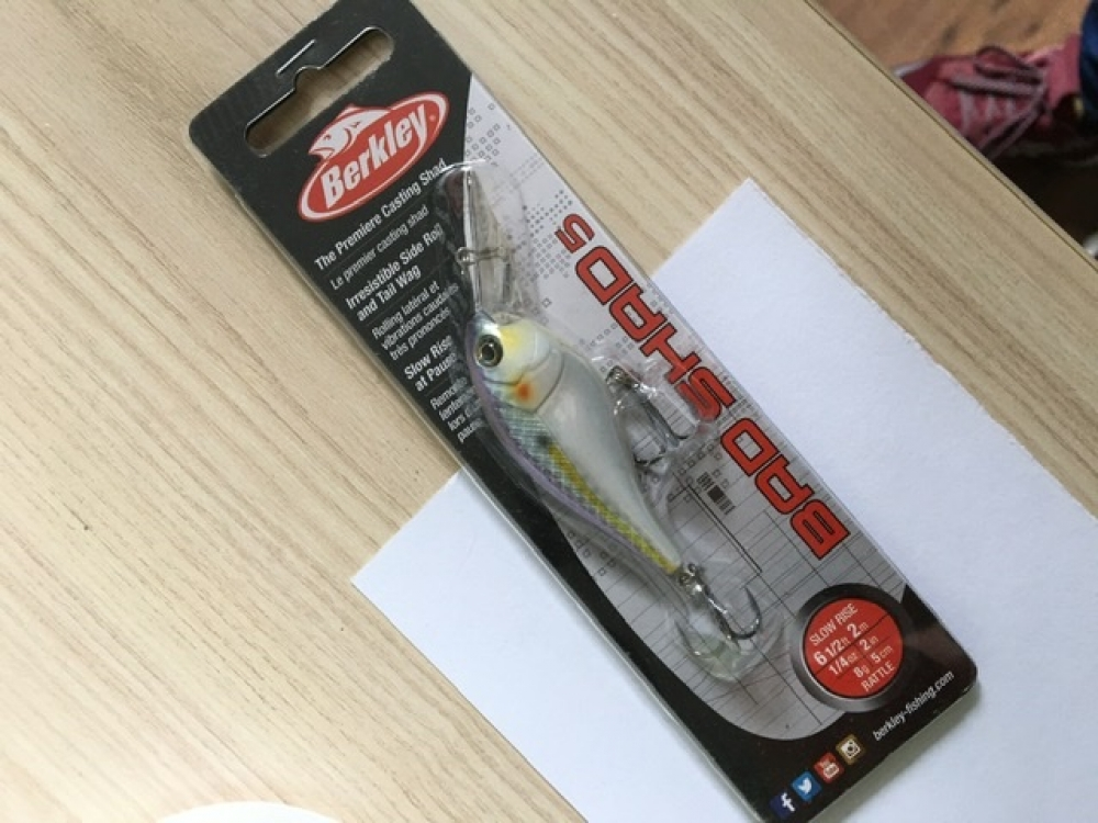 Berkley bad shad 5cm