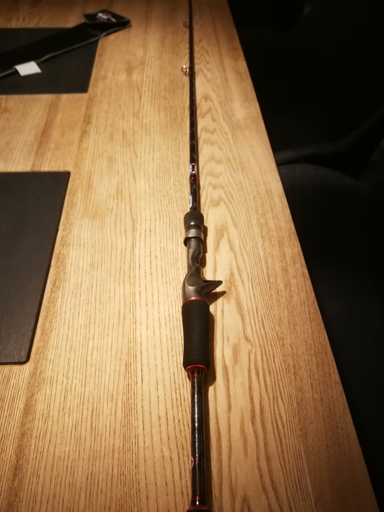 Canne casting Cinnetic crafty Bass game crb4