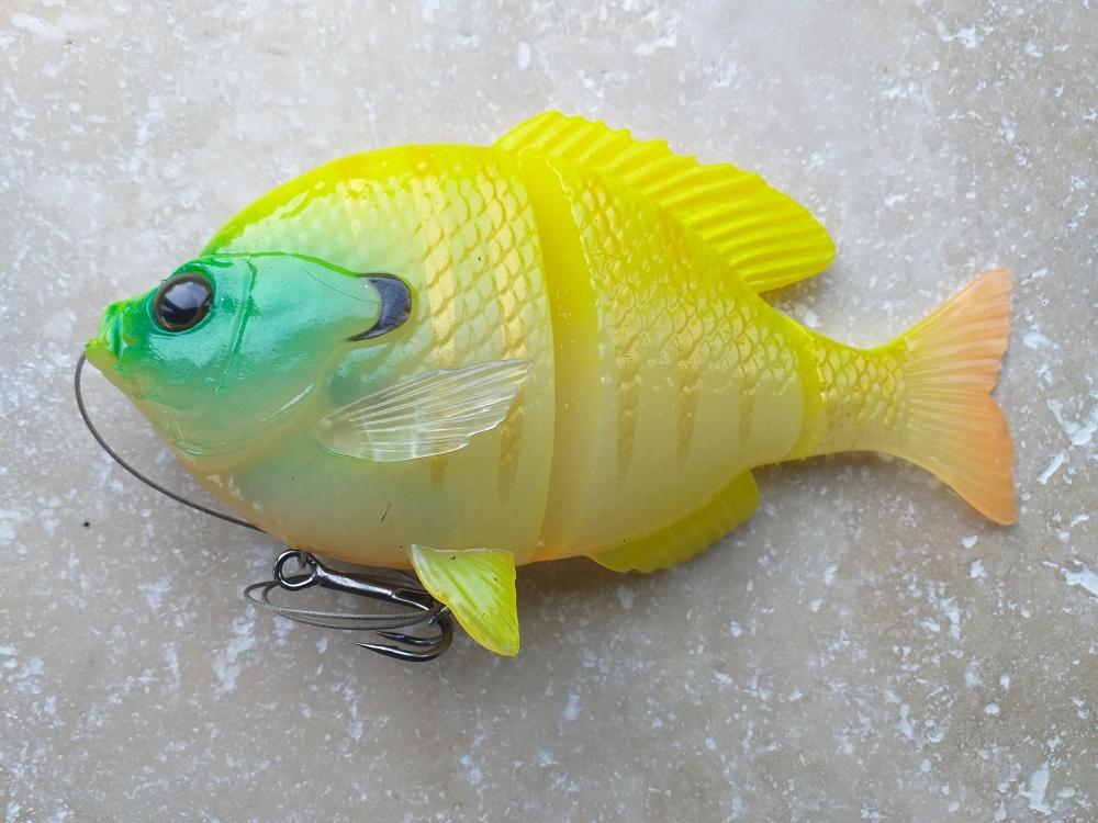 3d bluegill 15cm 110gr chartreuse