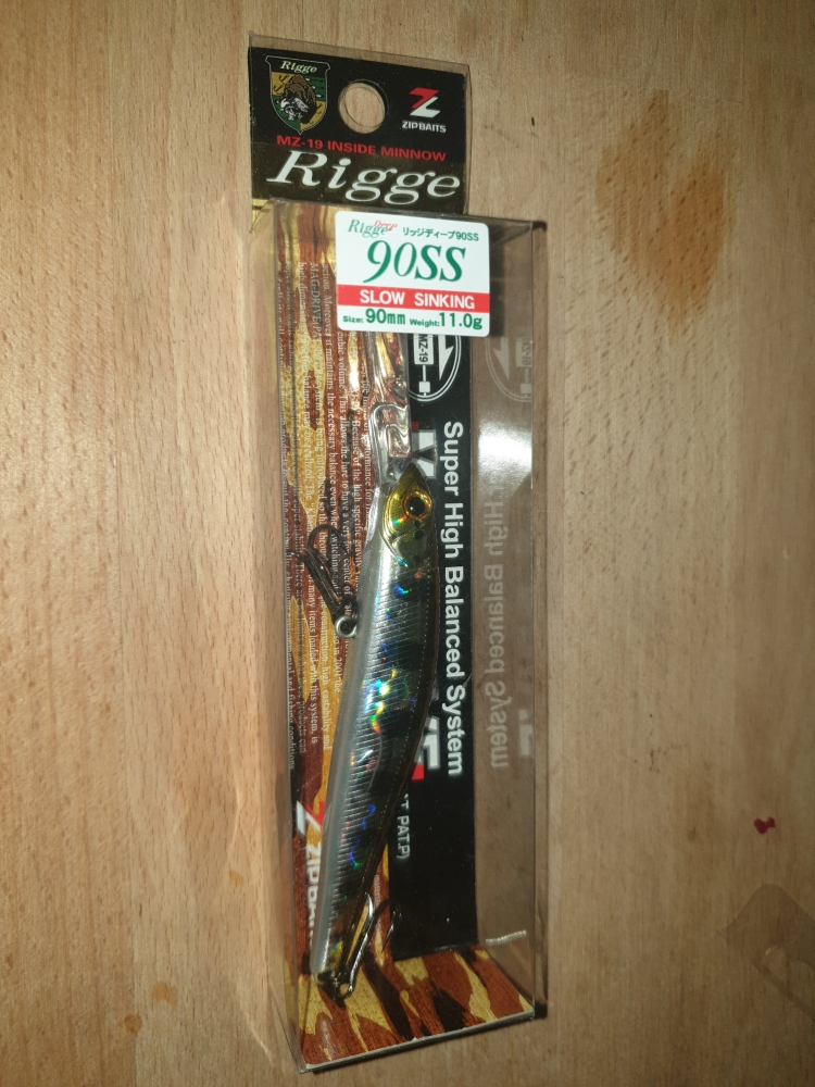 Zip baits rigge 90ss