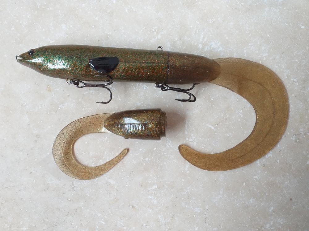 Hard eel 25cm 109gr motor oil