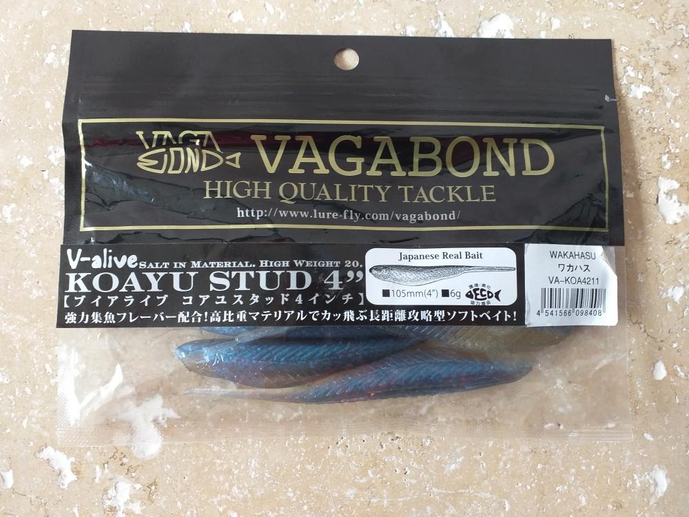 Vagabond 105mm 6gr wakahasu