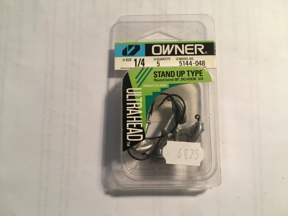 Owner JH-31 1/4 OZ 3/0