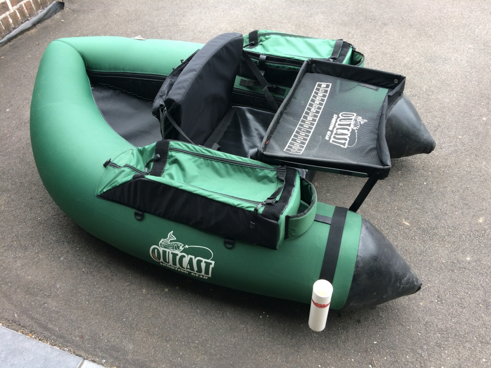 A vendre Float tube très peu servi