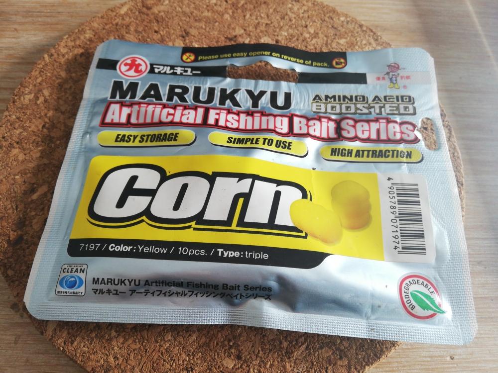 Maïs Artificiel Marukyu Corn - triple jaune x9