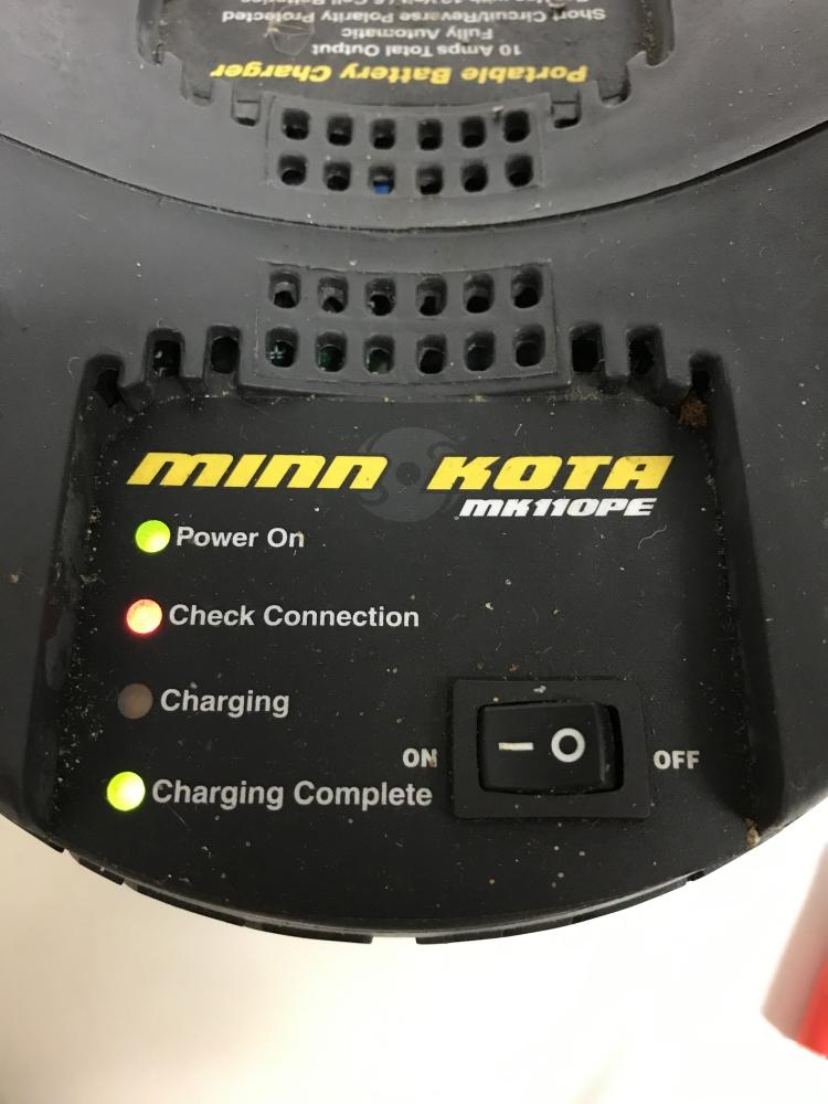 Chargeur Minn Kota MK110PE