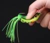 LOT   5X  Leurres souples  grenouille  , 50 mm  , 10,5 g