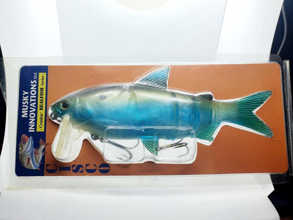 Musky Innovations Cisco Crankin Real Fish Swimbait