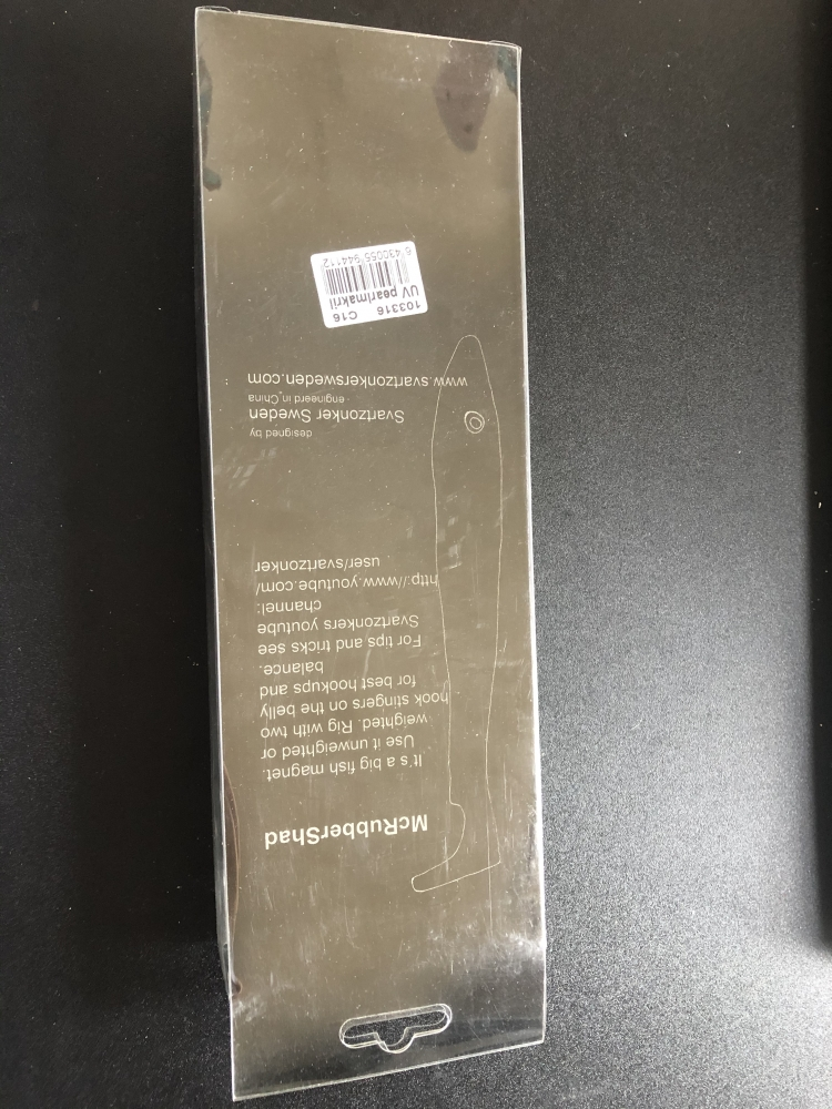 Svartzonker McRubber 23cm